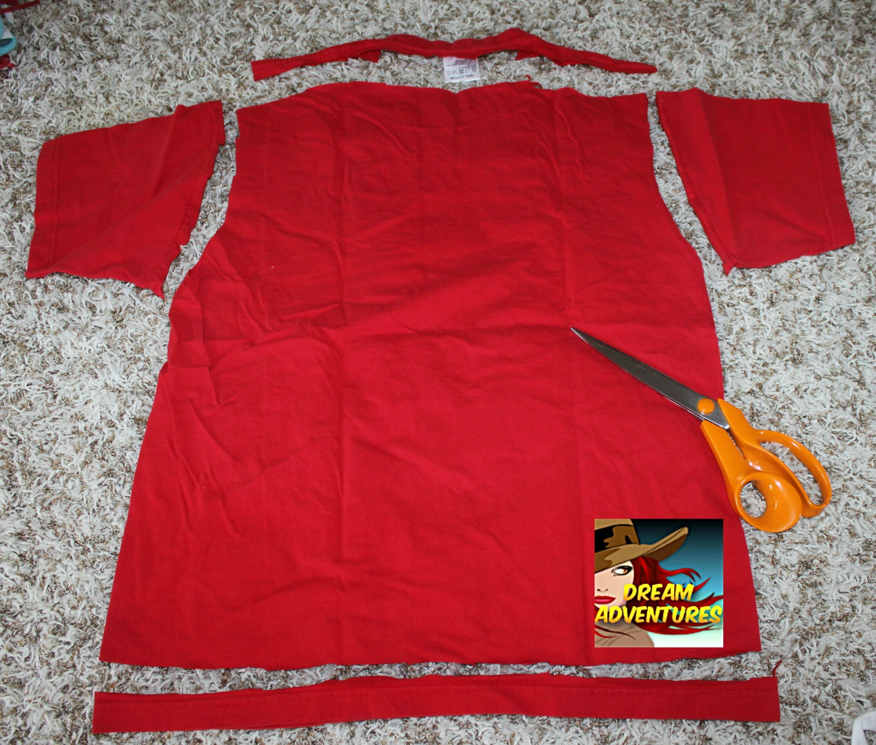 Repurpose your old t shirts how to make a dog toy from for How to make a shirt for your dog